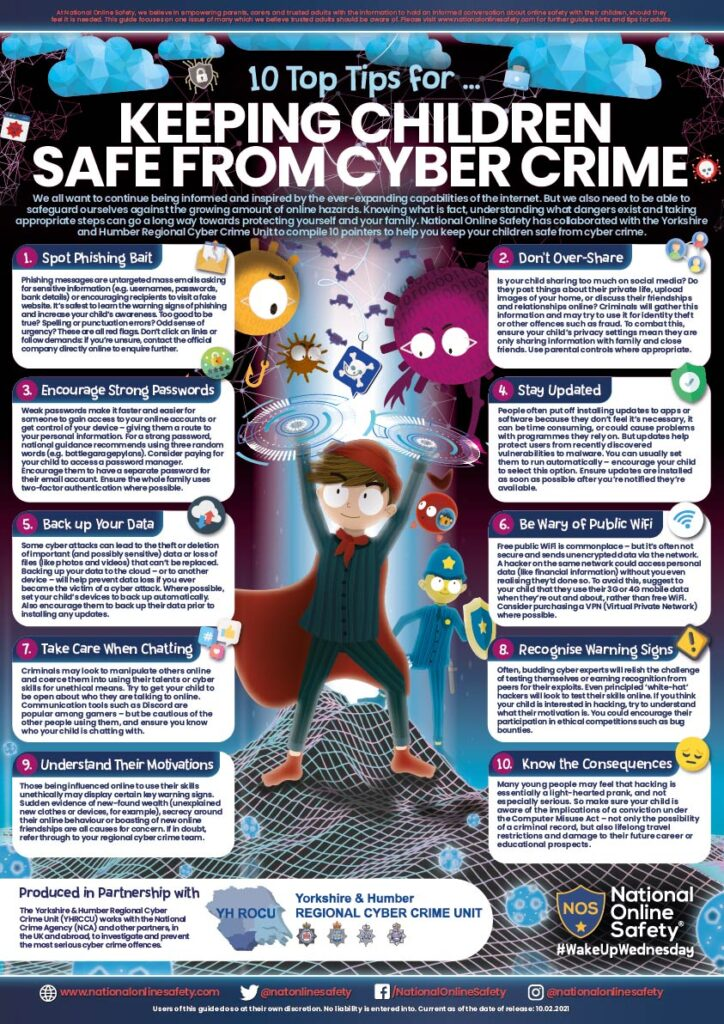10 tips to keep safe cyber crime