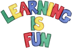 Learning is fun image