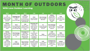 Month ofd outdoor activities