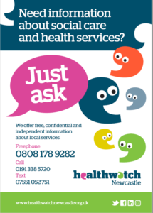 health watch poster newcastle