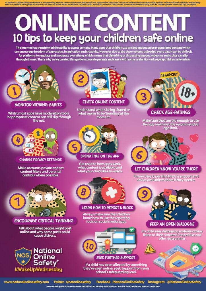 keep safe online