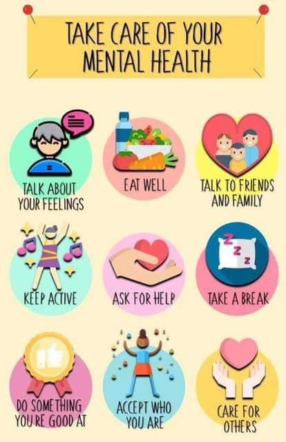 take care of you mental health