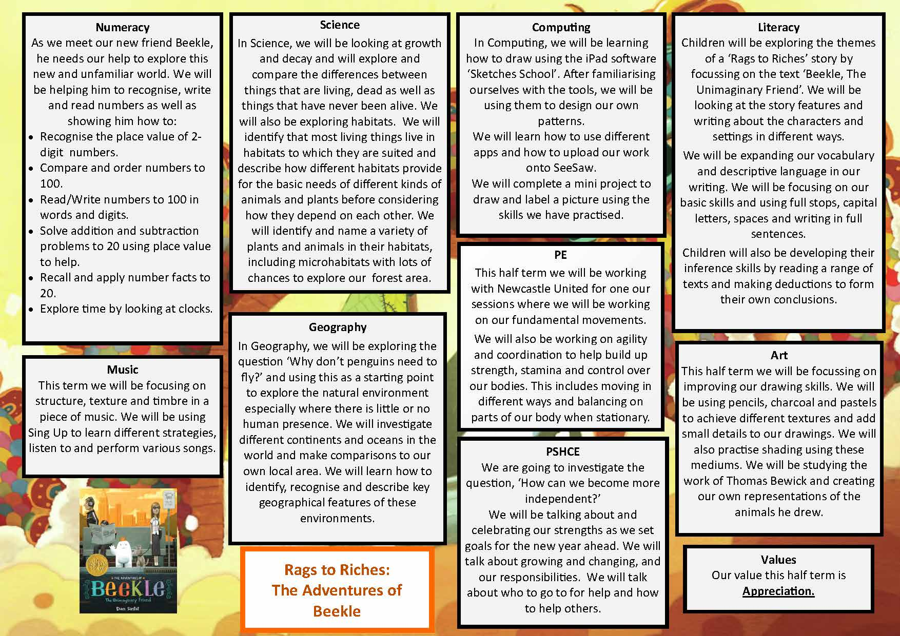 Y2 Autumn 1 Rags to Riches web
